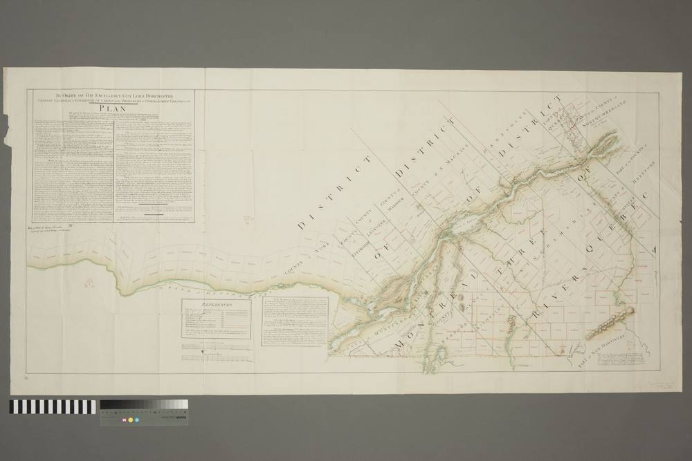 Plan of Part of the Province of Lower Canada containing the